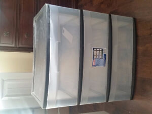 Large 3-Drawer Storage Container (Sterilite)
