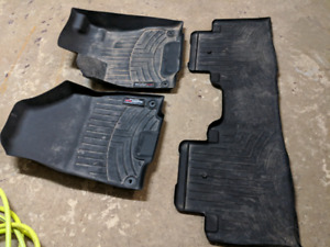 Acura MDX 1st and 2nd Row Weathertech Mats