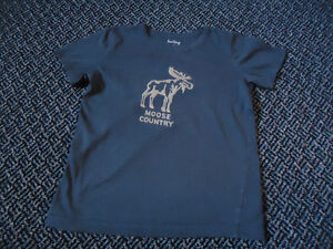 Boys Size 7 Short Sleeve Moose Country ***Hatley*** t-shirt