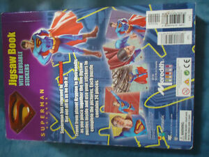 Superman Returns Jigsaw Book--5 Puzzles Kingston Kingston Area image 7