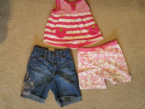 6-12 month Girls' tank top and shorts