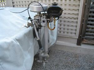British Seagull 2 HP Outboard Motor 1950'S