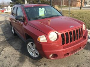 2008 Jeep Compass 4x4 SUV, Certified with Warranty