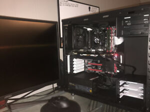 Powerful Gaming PC RX 580 , 1 TB SSD , i5 4460