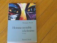 livre n.roman HOMME INVISIBLE littérature   psychologie
