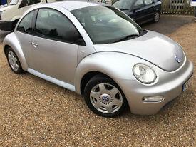 2000 'X' Volkswagen Beetle 2.0. VW. Petrol. Manual. Quirky Car. Px Swap
