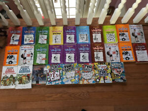 diary of a wimpy kid books etc.