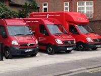 Cheapest man and van from £8/hour - 24 hour service 7 days