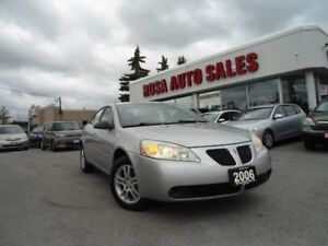 2006 Pontiac G6 AUTOSdn V6 LOW KM 134800 NO ACCIDENT NO RUST PW