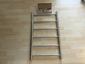 6 Bar Towel Ladder Polished Stainless