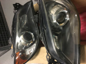 "Oem Subaru Impreza WRX headlight Lense assembly ""Hawkeye"" 06/07"