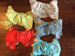 Lot of 18 Giggle life diapers/15 inserts