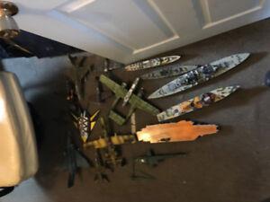 assembled models