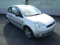 Ford Fiesta 1.4TD 2003.25MY Zetec PART X TO CLEAR £495 NEW MOT