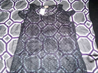 Brand new trendy top new with tags size 2x