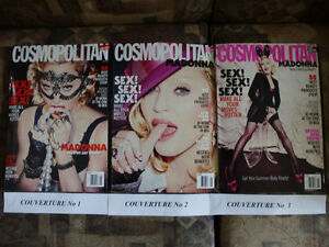 MADONNA Magazines Cosmopolitan Édition Collector USA mai 2015,