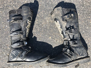 Fox dirt bike boots