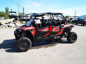 2015 RZR XP 1000 4 ONLY 60 KMS