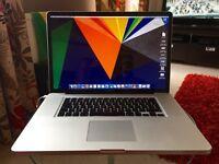 """Macbook Pro 17"""" 2.53Ghz i5 500GB 4GB"""