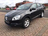 2007 Nissan Qashqai Visia 2WD**FINANCE & WARRANTY **not zafira,sharan,altea,c max ,C4