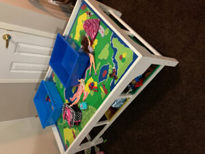 Childrens  train play table