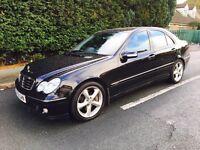 Mercedes-Benz C Class 1.8 Kompressor Avantgarde Auto 12Months MOT+Leather Pack Swap P.x Welcome