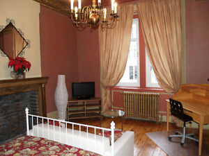 Very large room, private lounge; 5mn walking Berri metro;