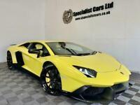 2014 Lamborghini Aventador 6.5 V12 2d 691 BHP Coupe Petrol Semi Automatic
