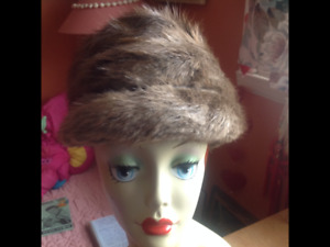 Vintage hats for women and men.