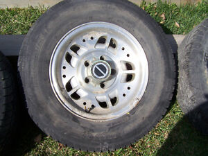Ranger rims and tires 5 x 114.3 pattern Strathcona County Edmonton Area image 1