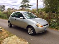 Low Mileage!!! 57 Plate Ford Ka 1.3 Style with NEW MOT & Service History