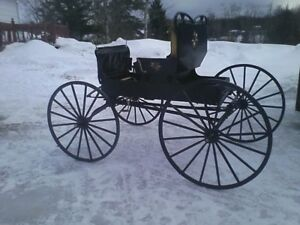 Carriolle chevals(buggy)4 roues
