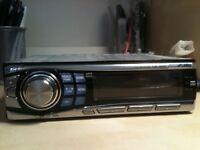 Alpine cda 9852 50 watts *4 aux i pod connectivity car stereo cd mp3 player