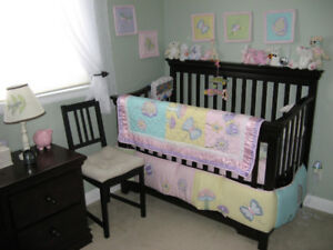 Furniture bedroom set for baby, toddler and adult