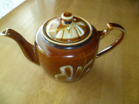 Older Brown  Teapot