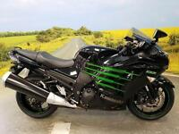 Kawasaki ZZR1400 Special Edition**TRACTION CONTROL, RIDER POWER MODES, ABS**