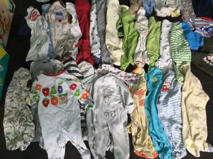 Huge lot of 6 month baby clothes