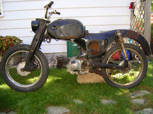 1964 Honda C200 (90cc) Project/Parts Bike