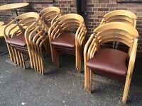 **JOB LOT** 21 chairs