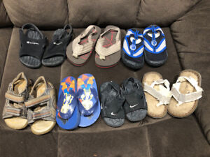Boys Sandal Lot