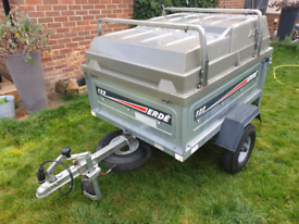 Erde 122 Lightweight Camping Tipping Trailer With Extras