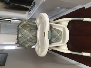 High chair used