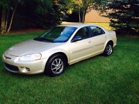 2001 Chrysler Sebring - Low Kms