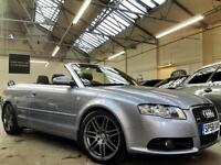 2008 Audi A4 Cabriolet 2.0 TDI S Line Convertible 2dr Diesel Manual (172