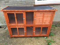 Ferret Guinea pig rabbit outdoor cage hutch