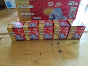 (5) 50Watt Halogen GU10 Bulbs