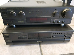 Technics 6 Disc CD Player and Stereo system