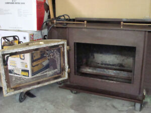 Wood burning stove - fireplace inserts