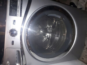 Stainless Steel Whirlpool Duet Washer For Parts
