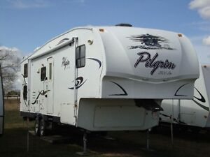 2008 31ft fifth wheel trailer for sale BUNK MODEL